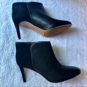 Nine West black booties size 8.5